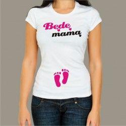 Koszulka - Będę mamą