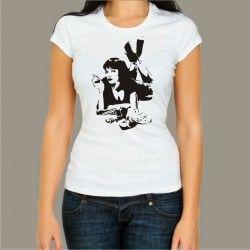 Koszulka męska - Pulp Fiction - Mia
