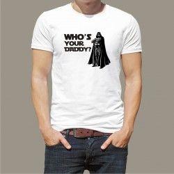 Koszulka męska - Who's your daddy
