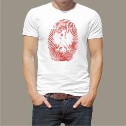 Koszulka męska - Odcisk palca