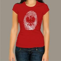 Koszulka damska - Odcisk palca