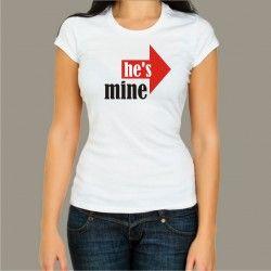 Koszulka - He's mine