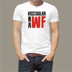 Koszulka męska - na WF