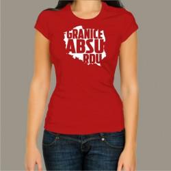 Koszulka damska - Granice Absurdu