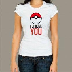 Koszulka damska - I choose You