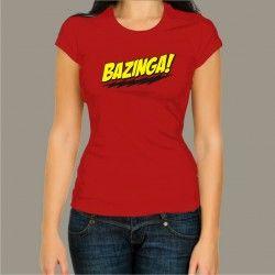 Koszulka damska - Bazinga!