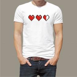 Koszulka męska - Heart Game