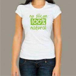 Koszulka - No silicon, 100% natural
