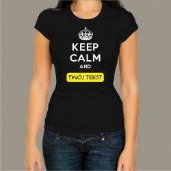 Koszulka damska - Keep Calm