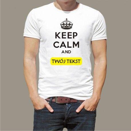 Koszulka męska - Keep Calm