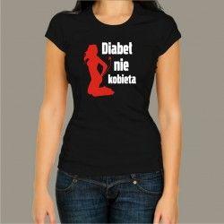 Koszulka - Diabeł nie kobieta