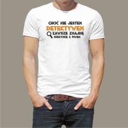 Koszulka - Nie jestem detektywem