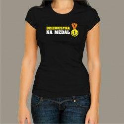 Koszulka - Dziewczyna na medal