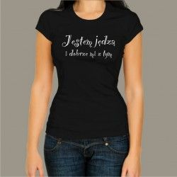 Koszulka - Jestem jędzą i dobrze mi z tym