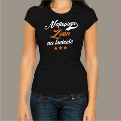 Koszulka - Najlepsza żona na świecie