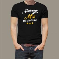 Koszulka - Najlepszy mąż na świecie