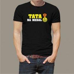 Koszulka - Tata na medal