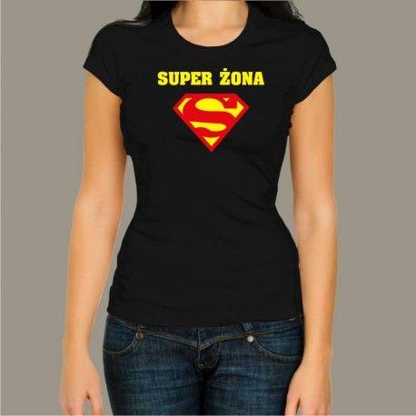 Koszulka - Super żona
