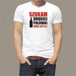 Koszulka - Szukam drugiej połówki, może być 0,7