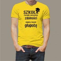 Koszulka - Szkoła rozwija
