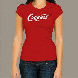 Koszulka męska - Cocaine