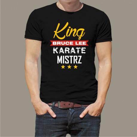 Koszulka Męska - King Bruce Lee karate mistrz