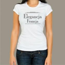 Koszulka Damska - Elegancja Francja