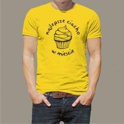 Koszulka Męska - Najlepsze ciacho w mieście