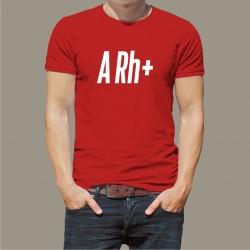 Koszulka Męska - Grupa Krwi A Rh+