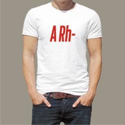 Koszulka Męska - Grupa Krwi A Rh-