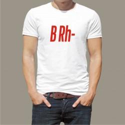 Koszulka Męska - Grupa Krwi B Rh-