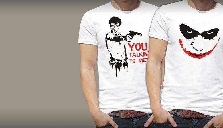 Koszulki filmowe